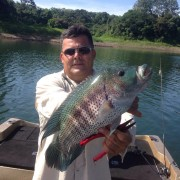Arenal Lake Fishing – Luis & Rainbow Bass